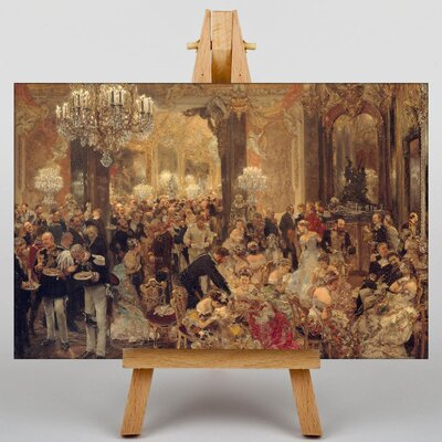 Big Box Art The Ball by Adolph Menzel Art Print on Canvas