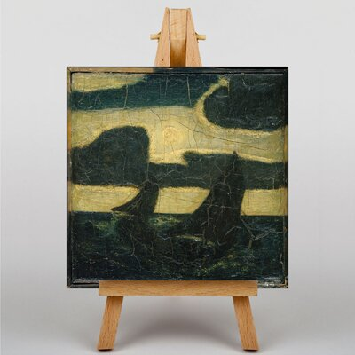 Big Box Art Toilers of the Sea by Albert Pinkham Ryder Art Print on Canvas