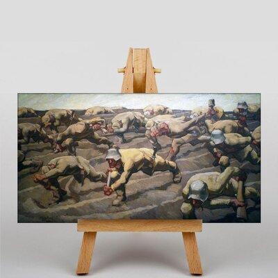 Big Box Art Northern France by Albin Egger-Lienz Art Print on Canvas