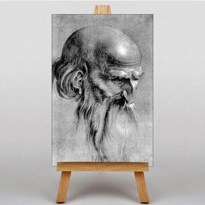 Big Box Art Head of an Apostle by Albrecht Durer Art Print on Canvas