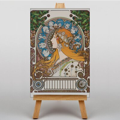 Big Box Art Piece No.11 by Alphonse Mucha Graphic Art on Canvas