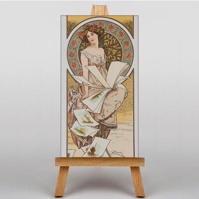 Big Box Art Piece No.3 by Alphonse Mucha Graphic Art on Canvas