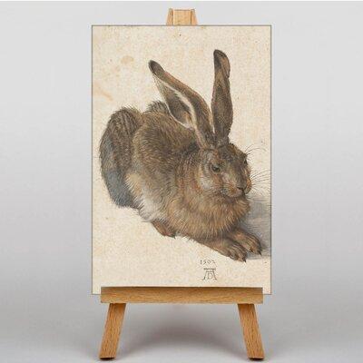 Big Box Art The Hare by Albrecht Durer Art Print on Canvas