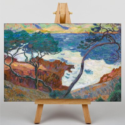 Big Box Art Landscape by Armand Guillaumin Art Print on Canvas