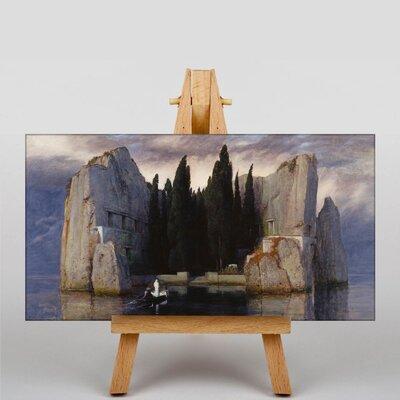 Big Box Art Isle of the Dead by Arnold Bocklin Art Print on Canvas