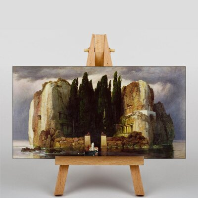 Big Box Art Isle of the Dead by Arnold Bocklin Art Print on Canvas