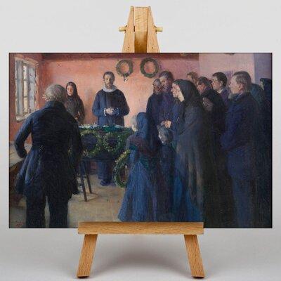 Big Box Art A Funeral by Anna Ancher Art Print on Canvas