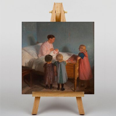 Big Box Art Little Brother by Anna Ancher Art Print on Canvas