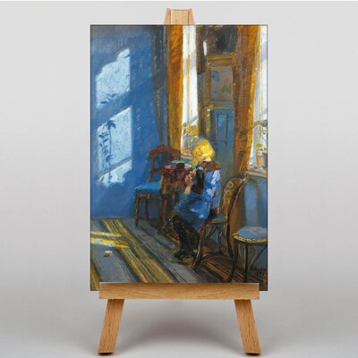 Big Box Art Sunlight in the Blue Room by Anna Ancher Art Print on Canvas