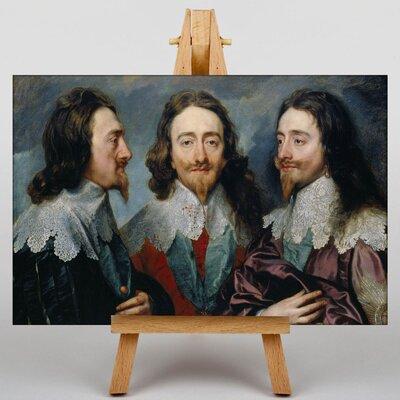 Big Box Art Charles I by Anthony Van Dyck Art Print on Canvas