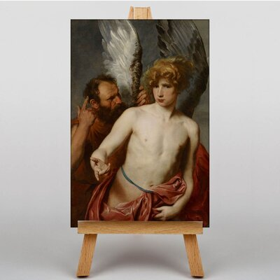 Big Box Art Daedalus and Icarus by Anthony Van Dyck Art Print on Canvas