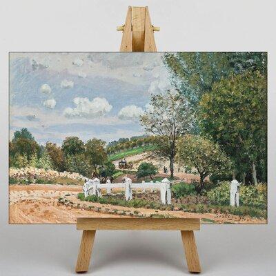 Big Box Art La Mare Aux Canards by Alfred Sisley Art Print on Canvas