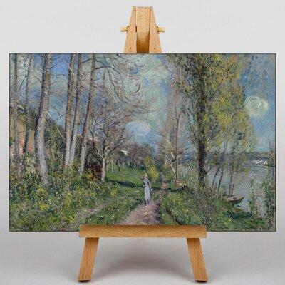 Big Box Art Landscape No.1 by Alfred Sisley Art Print on Canvas