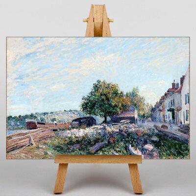 Big Box Art Landscape by Alfred Sisley Art Print on Canvas