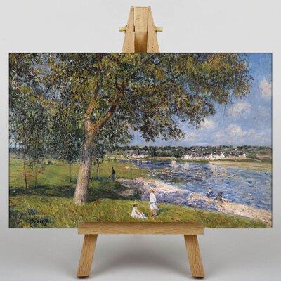 Big Box Art Landscape No.5 by Alfred Sisley Art Print on Canvas