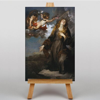 Big Box Art Saint Rosalie in Glory by Anthony Van Dyck Art Print on Canvas