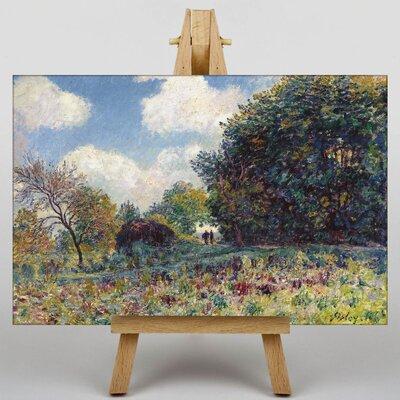 Big Box Art Landscape No.6 by Alfred Sisley Art Print on Canvas