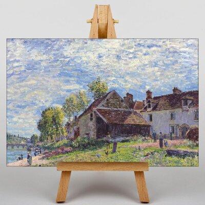 Big Box Art Landscape No.8 by Alfred Sisley Art Print on Canvas