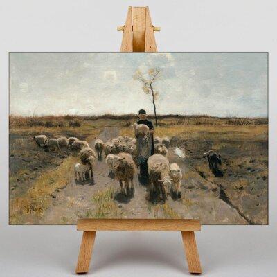 Big Box Art Flock of Sheep by Anton Mauve Art Print on Canvas