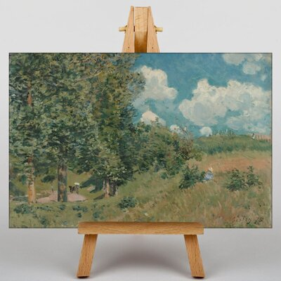 Big Box Art Versailles Route by Alfred Sisley Art Print on Canvas