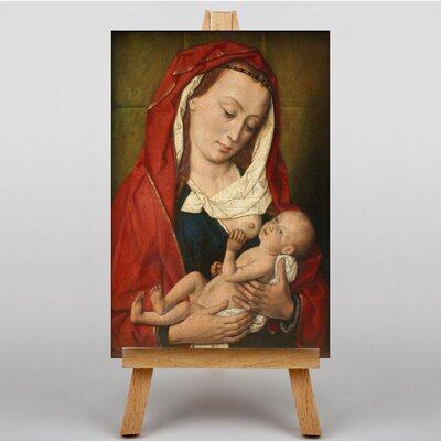Big Box Art Madonna with Child by Dieric Bouts Art Print on Canvas