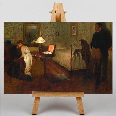 Big Box Art Interior by Edgar Degas Art Print on Canvas