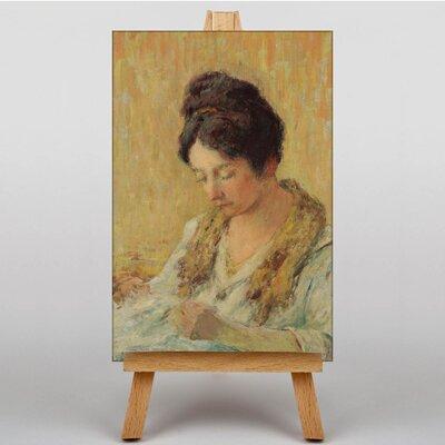 Big Box Art Schuffenecker Seamstress by Claude Emile Art Print on Canvas