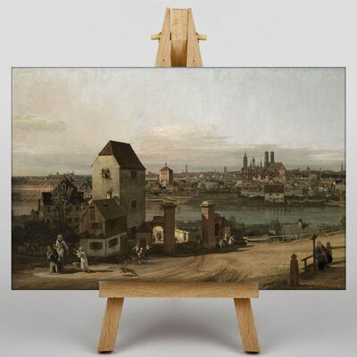 Big Box Art The River by Bernado Bellotto Canaletto Art Print on Canvas