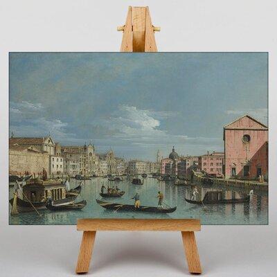 Big Box Art Venice by Bernado Bellotto Canaletto Art Print on Canvas