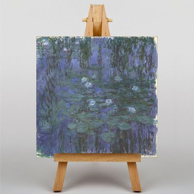 Big Box Art Water LIllies No.2 by Claude Monet Art Print on Canvas
