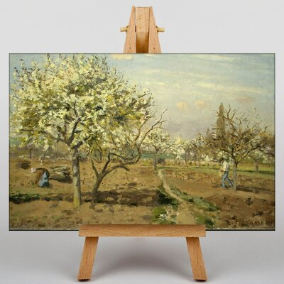 Big Box Art The Orchard by Camille Pissaro Art Print on Canvas