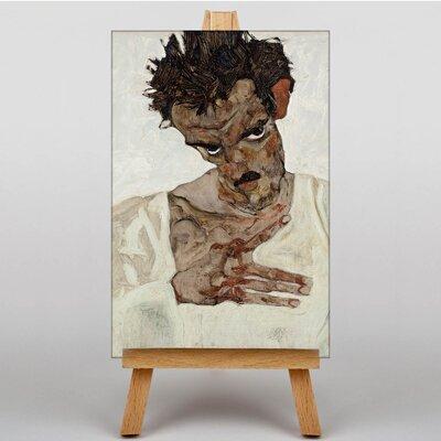 Big Box Art Portrait No.5 by Egon Schiele Art Print on Canvas