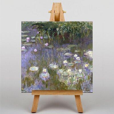 Big Box Art Water LIllies No.3 by Claude Monet Art Print on Canvas