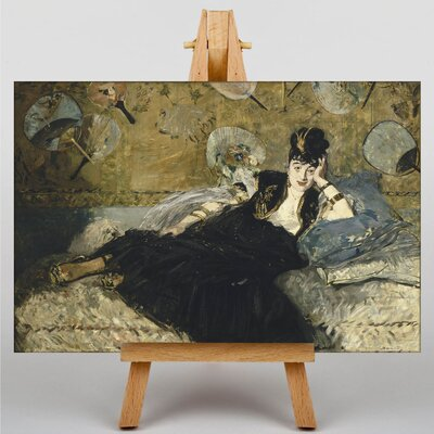 Big Box Art Woman with Fans by Edouard Manet Art Print on Canvas