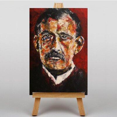 Big Box Art Self Portrait by Edvard Munch Art Print on Canvas