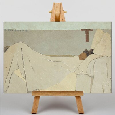 Big Box Art In Bed by Edouard Vuillard Art Print on Canvas