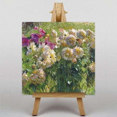 Big Box Art Flowers by Carl Moll Art Print on Canvas