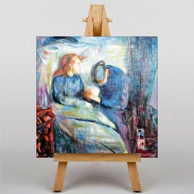 Big Box Art The Sick Child No.1 by Edvard Munch Art Print on Canvas