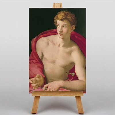 Big Box Art St Sebastian by Agnolo Bronzino Art Print on Canvas