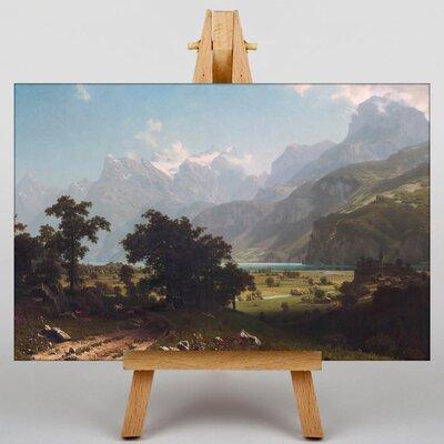 Big Box Art Lake Lucerne by Albert Bierstadt Art Print on Canvas