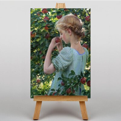 Big Box Art Scent of the Apple by Charles C. Curran Art Print on Canvas