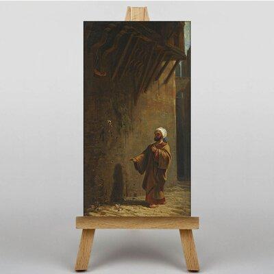 Big Box Art Street in Cairo by Carl Spitzweg Art Print on Canvas