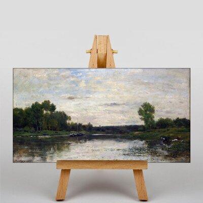 Big Box Art Daubigny Landscape No.7 by Charles-Francois Art Print on Canvas