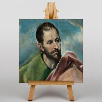 Big Box Art Saint James the Younger by El Greco Art Print on Canvas