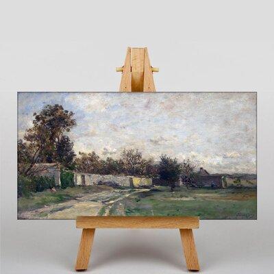Big Box Art Daubigny Landscape No.9 by Charles-Francois Art Print on Canvas