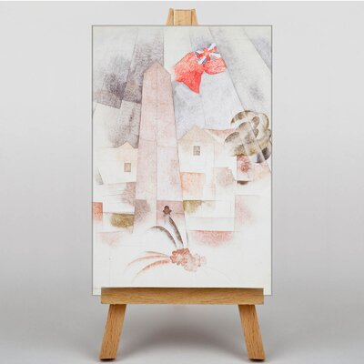 Big Box Art Monument Bermuda by Charles Demuth Art Print on Canvas