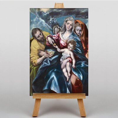 Big Box Art The Holy Family by El Greco Art Print on Canvas