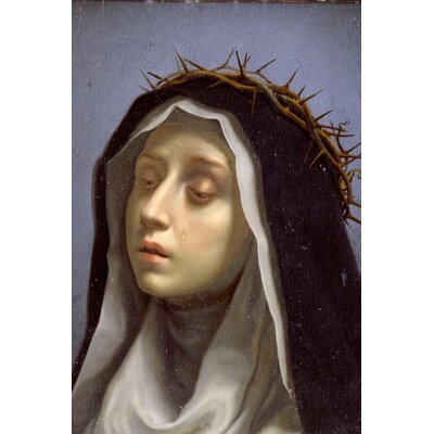 Big Box Art St. Catherine of Siena by Carlo Dolci Graphic Art on Canvas