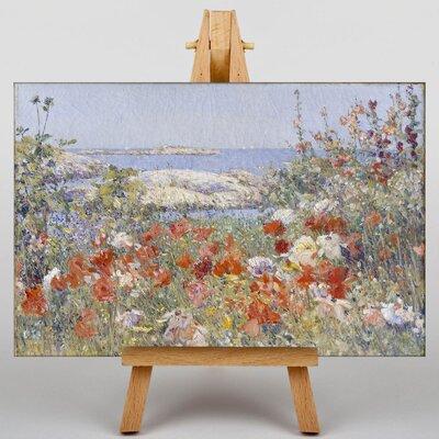 Big Box Art Celia Thaxters Garden by Childe Hassam Art Print on Canvas