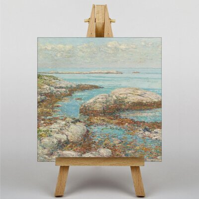 Big Box Art Seascape by Childe Hassam Art Print on Canvas